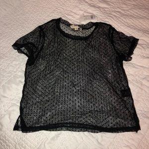 Short Sleeve Mesh Shirt